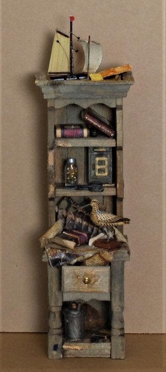 Rustic Bird Cabinet
