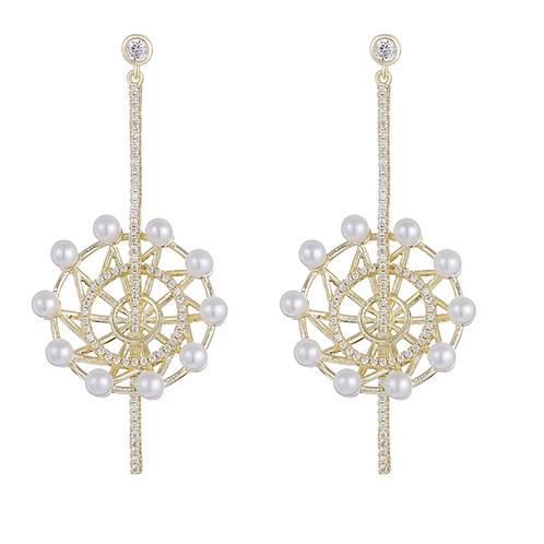 Beautiful Drop Earrings 003