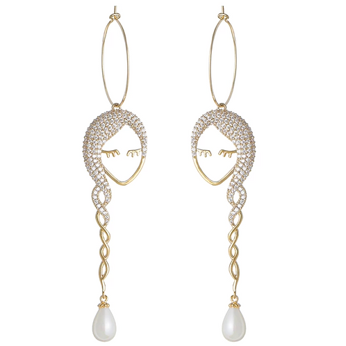 Beautiful Drop Earrings 002