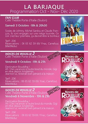 Programmation Cie La Barjaque Oct-Nov-De