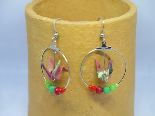 BOUCLES ORIGAMI by Avalanche Creations
