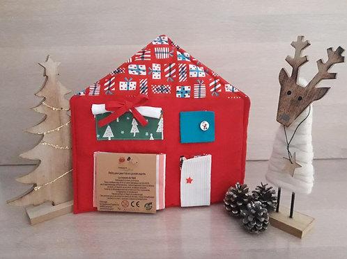 Maison des fermetures de Noel by Titinuage
