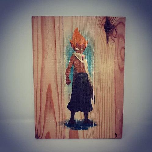 Impression sur bois By Le petit recycleur