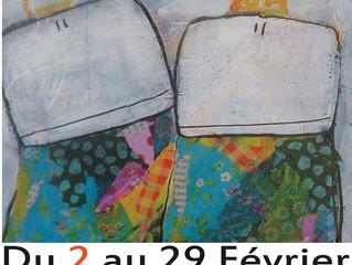 CHEZ AD LIB [...]  EXPO PEINTURE ALEX'N VENDREDI 5 FEVRIER DES 19H