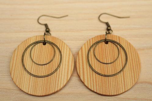 BOUCLES en bois By OH DESIGN BOIS