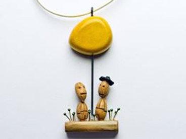 Collier sculpture - BIDULES & BRELOQUES