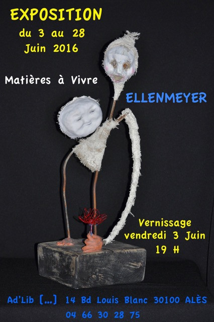 EXPOSITION DU MOIS DE JUIN A VENIR DECOUVRIR