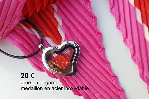 COLLIER ORIGAMI By AVALANCHE CREATION