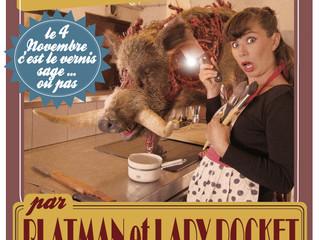"""en novembre chez ad lib lady pocket et blatman frappent fort et vous présentent """"the fabulous h"""