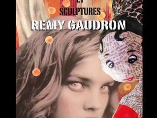 remy gaudron collages et sculptures chez ad Lib a partir du 7 avril 19h vernissage