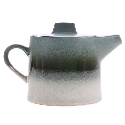 Théière collection ceramic 70's - Glacier