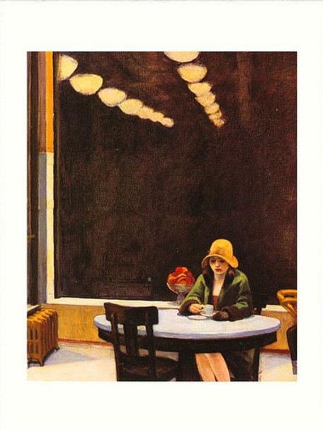 Automne Edward Hopper 30 x 40 cm