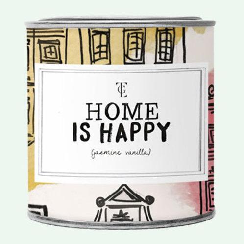 Grande Bougie HOME IS HAPPY 100% SOJA