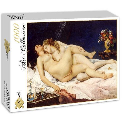 Gustave Courbet le sommeil 1000 pièces