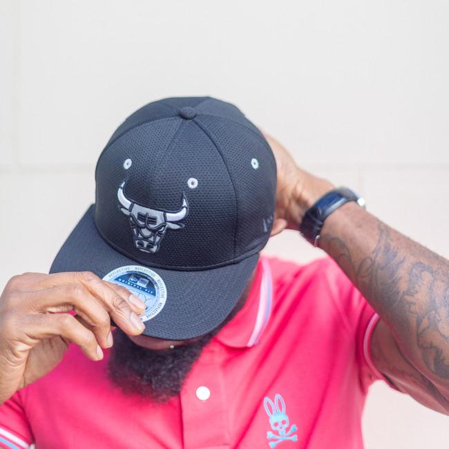 Miami Bulls New Era cap modelled