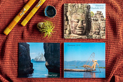 custom bespoke travel photo albums