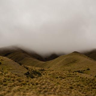 atmospheric fog in New Zealand