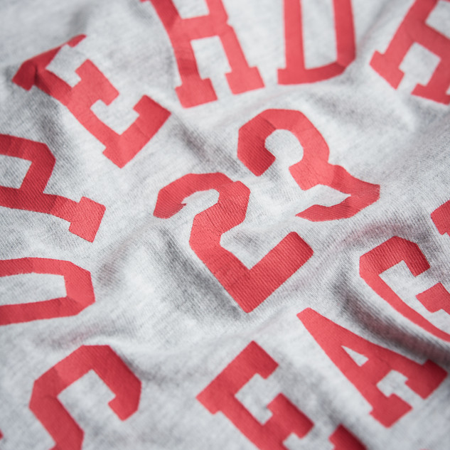 superdry 23 branding detail