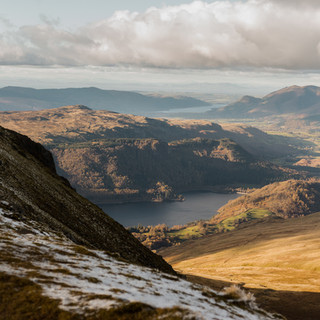 Views from Helvellyn in the Lake District