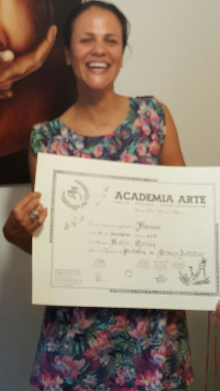Egresada Rocío Gómez