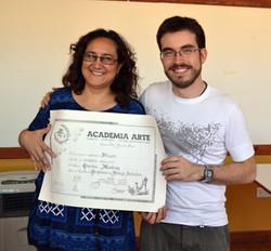 Egresada Graciela Martínez