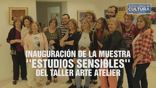 """Inauguración """"Estudios Sensibles"""" Casa de las Culturas"""