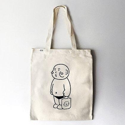 cheeky cheeky - cheeky boy tote bag