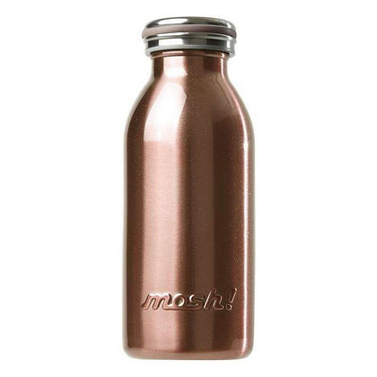 MOSH - Stainless Steel Bottle 350ml - Pearl Gold