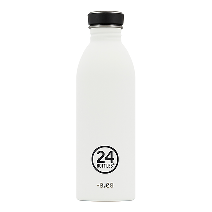 24 BOTTLES - Urban Bottles 500ml - White
