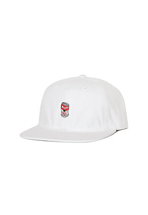 Filter017 Soup Can Ball Cap - White