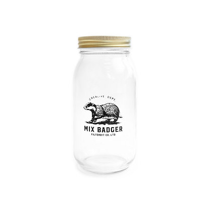Filter017 Mix Badger Mason Jar - Big