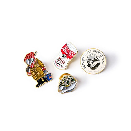 Filter017 Mix Badger / Classic Pack Lapel Pin
