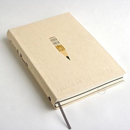 九口山 - 32開鉛筆系列白紙筆記本 - 02 (PENCIL)