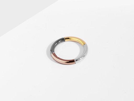 MADEGREY - Iconic 4-Tone Ring   Bronze
