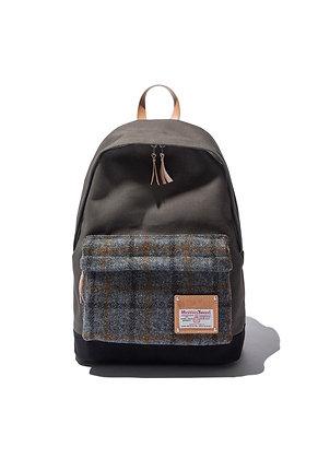 The Earth - Harris Tweed Daypack - Grey
