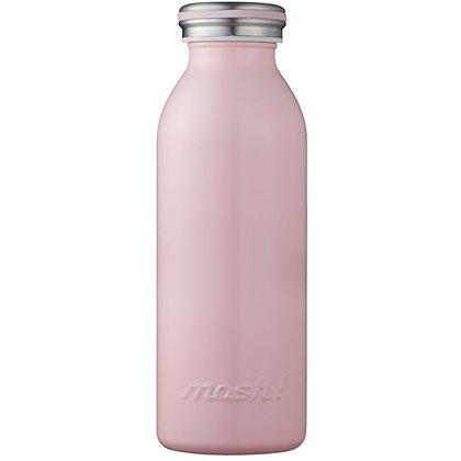 MOSH - Stainless Steel Bottle 450ml - Peach