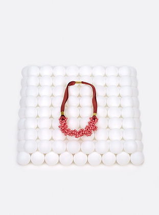 ZO-EE - PINK BUBBLE NECKLACE