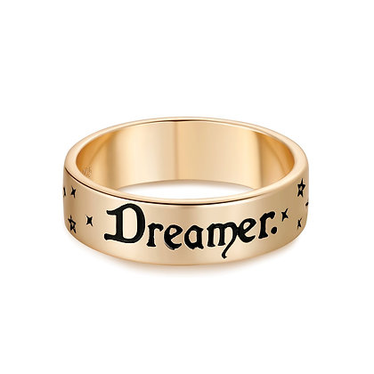 Love By The Moon - OPAL 2-WAY GOLD RING - DREAMER