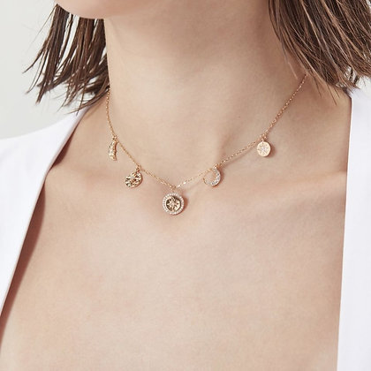 Love By The Moon - Love By the Moon Gold Choker