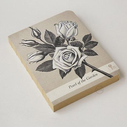 九口山 - 原創Imaginote320P牛皮紙裸裝筆記本 - 玫瑰