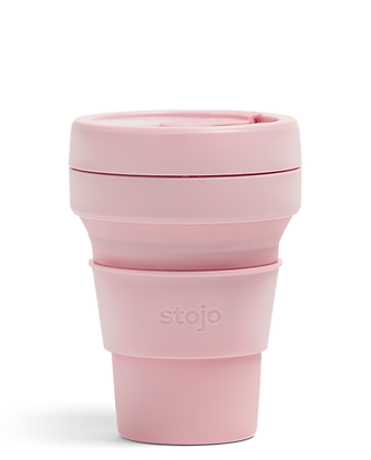 Stojo - 12oz cup - Carnation