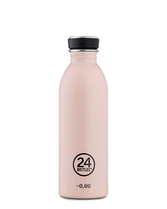 24 BOTTLES - Urban Bottles 500ml - Dusty Pink