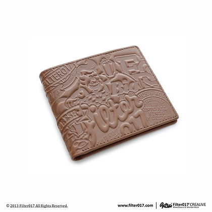 Razzle Dazzle Classic Wallet (Brown)