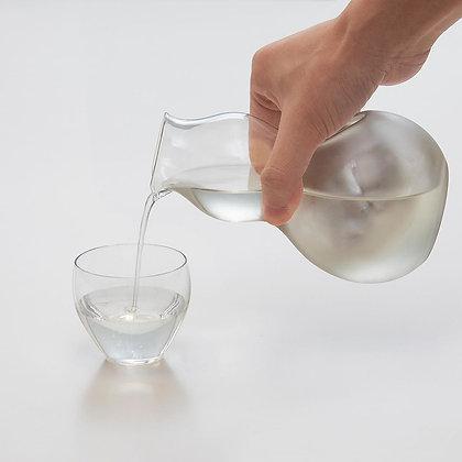 ADERIA - Hisago Tokkuri - 玻璃清酒瓶