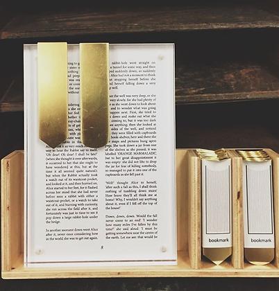 VWJEWELLERY - Brass Bookmark