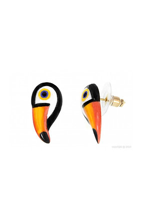 Nach - Mini toucan earring