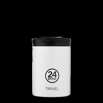 24BOTTLES - Travel Tumbler 350ml - Ice White