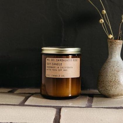 P.F. Candle Co. - Sandalwood Rose (7.2 oz)