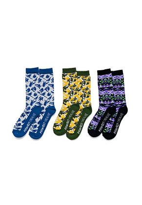 Filter017 x Evangelion - EVA Pattern Socks