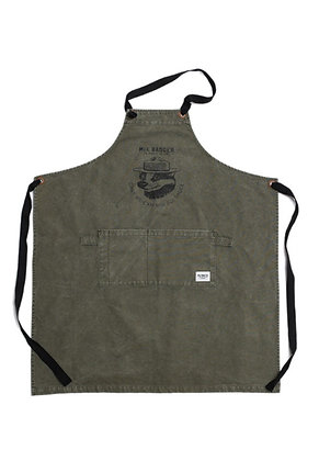 Filter017 Mix Badger Apron - Army Green